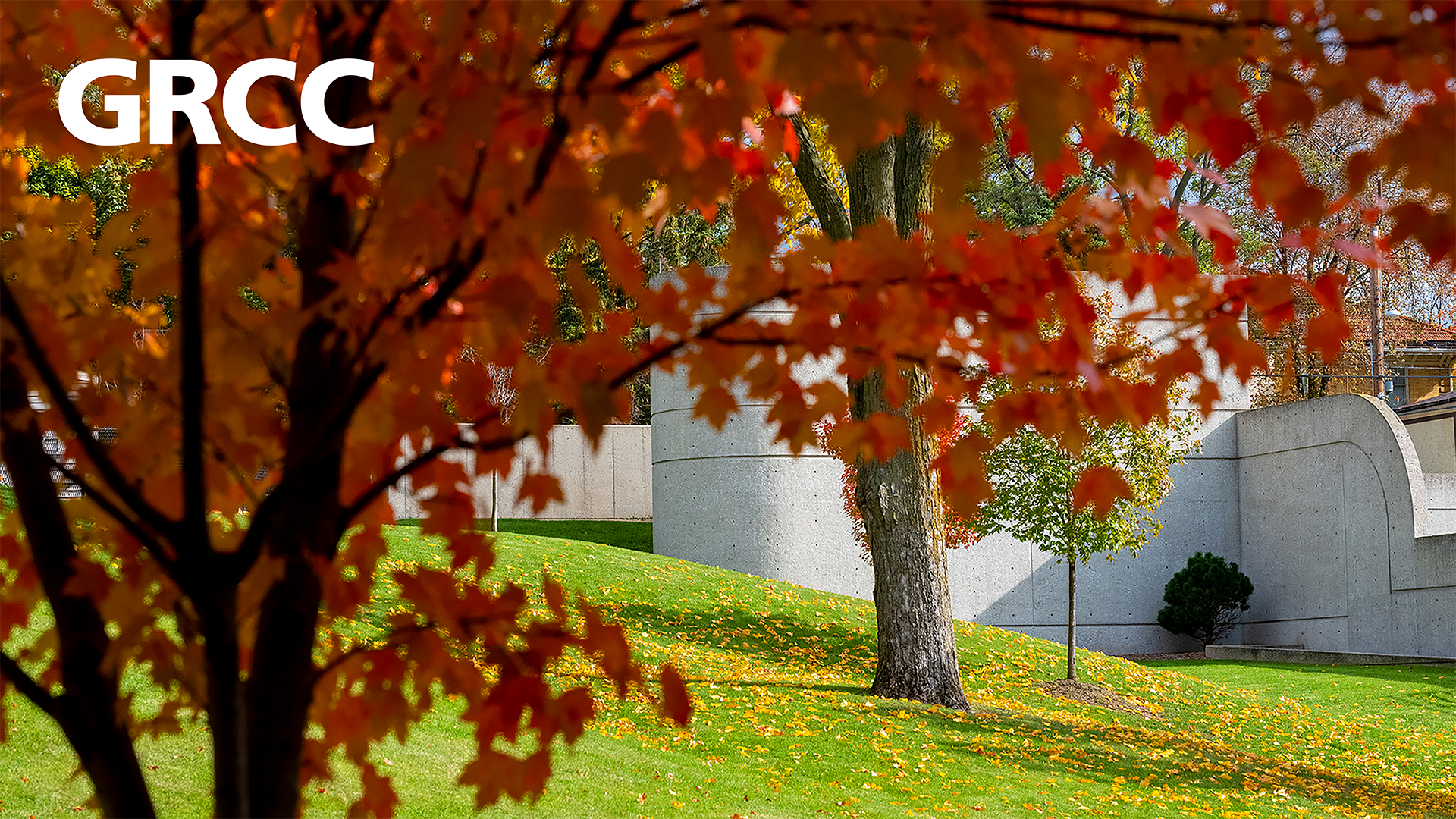 GRCC campus in the fall