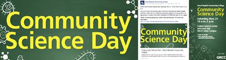 Community Science Day examples