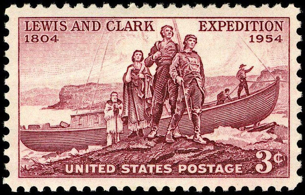 Lewis and Clark Expedition United States Postage Stamp