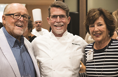 Peter Secchia, Rick Bayless, and Joan Secchia