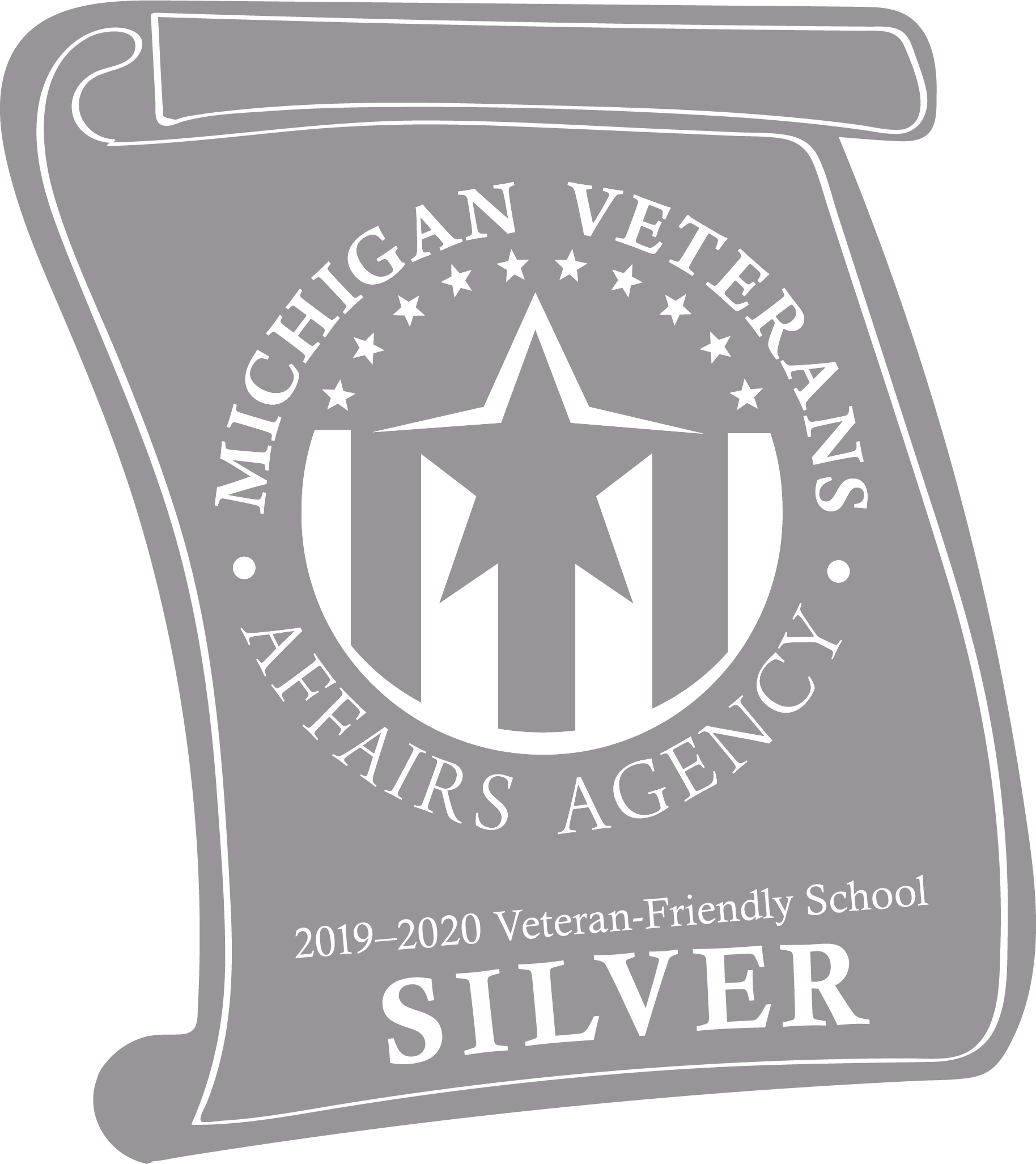 Michigan Veterans Affairs Agency Silver Certified School Seal of Approval