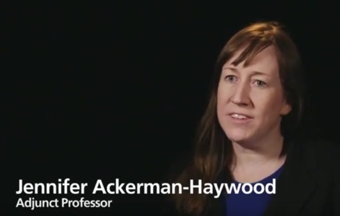 Jennifer Ackerman-Haywood Adjunct Professor