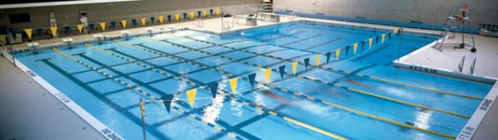 The pool in the Ford Fieldhouse at GRCC