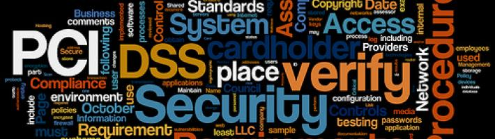 A collage of words used in information technology