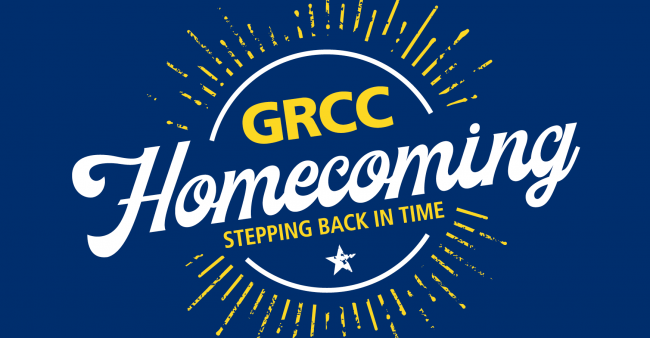 GRCC Homecoming. Stepping Back in Time.
